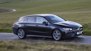 Mercedes CLA Shooting Brake driving - side