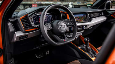 Audi A1 Citycarver hatchback interior