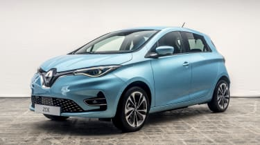 New Renault ZOE - front 3/4 view