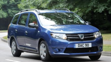 The Dacia Logan MCV is a practical estate car which costs less than most superminis