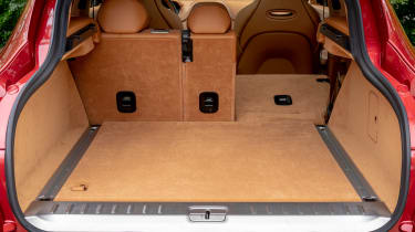 Aston Martin DBX SUV boot