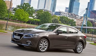 New Mazda3 saloon 2013 side