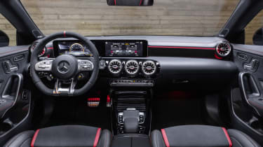 2019 Mercedes-AMG CLA 45 S Shooting Brake - interior wide view