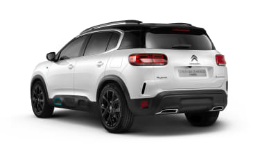Citroen C5 Aircross plug-in hybrid - rear 3/4