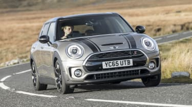 MINI Clubman - front 3/4 view