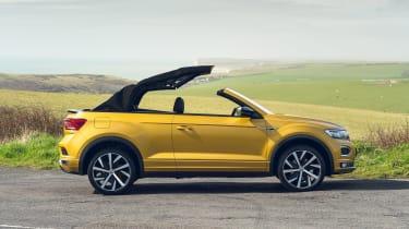 Volkswagen T-Roc Cabriolet roof opening