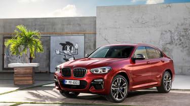 BMW X4 static shot, front left