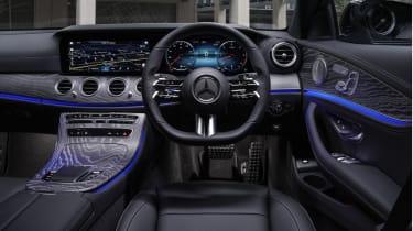 Facelifted Mercedes E-Class estate interior