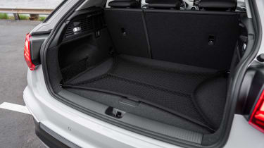 Audi Q2 SUV loading lip