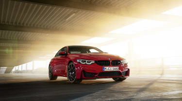 BMW M4 M Heritage Edition in Imola Red