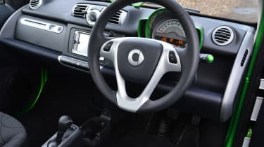 Smart ForTwo ED - Interior