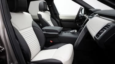 Land Rover Discovery SUV front seats