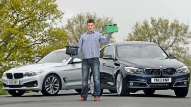 BMW 3 Series Gran Turismo front quarter static