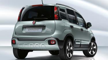 Fiat Panda mild hybrid - rear view