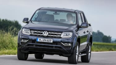 A lofty driving position means you have an excellent view of the road in the Amarok