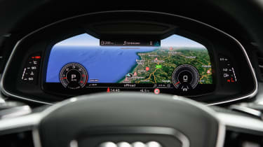 Audi A7 Sportback hatchback Virtual Cockpit