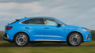 Audi Q3 Sportback SUV - side dynamic