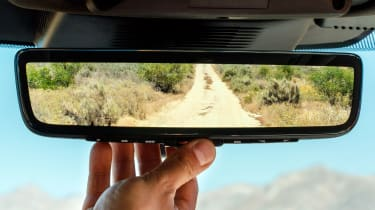 Land Rover Discovery Sport SUV ClearSight rear-view mirror