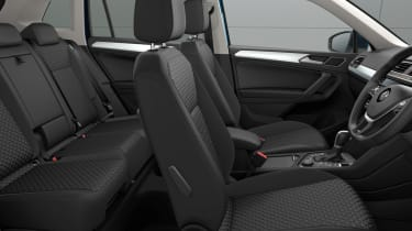 Volkswagen Tiguan Match interior