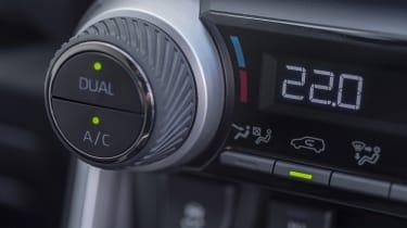 Suzuki Across SUV climate control