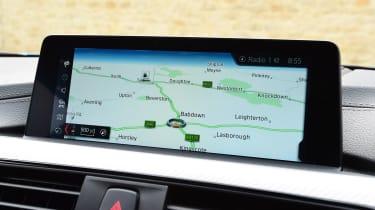 BMW 420d M Sport infotainment
