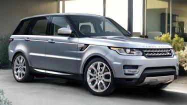 Range Rover Sport 2013 front quarter