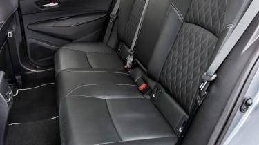 Toyota Corolla saloon back seats
