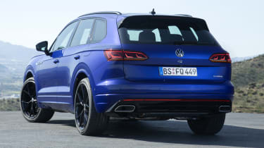 Volkswagen Touareg R rear
