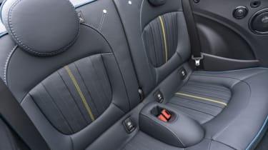 MINI Sidewalk Convertible rear seats