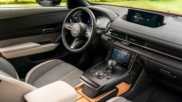 Mazda MX-30 SUV steering wheel