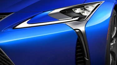 Lexus LC500 Convertible headlight