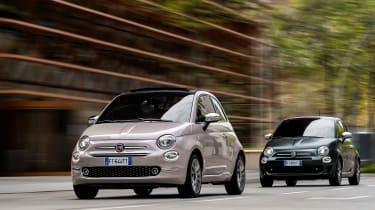 Fiat 500 Star and 500 Rockstar