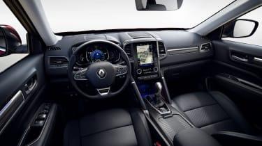 Renault Koleos facelift - interior