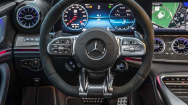 Mercedes-AMG GT 63 instrument cluster, close cropped