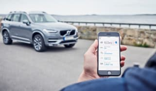 Volvo On Call app