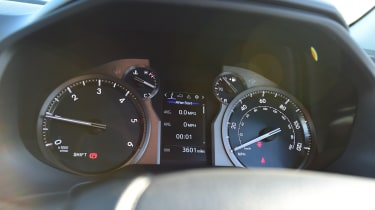 Toyota Land Cruiser Utility instruments
