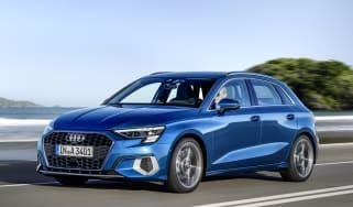 2020 Audi A3 Sportback - front 3/4 dynamic