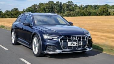 Audi A6 Allroad quattro estate front 3/4 tracking