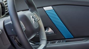 Citroen e-C4 hatchback steering wheel