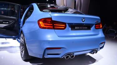 BMW M3 saloon 2014 rear static