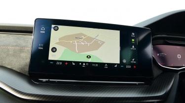Skoda Octavia vRS Estate navigation