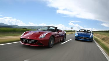 If the 1957 California is too expensive, the Ferrari California T is more affordable – though all things are relative