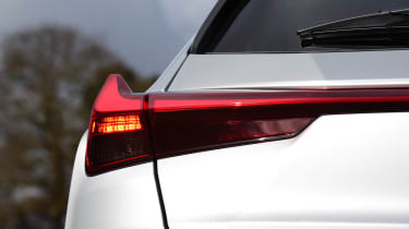 Lexus UX rear lights