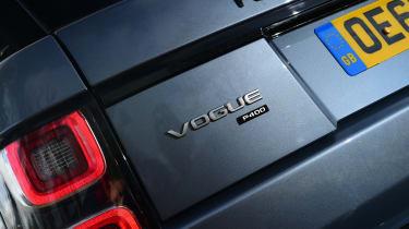 2020 Range Rover Vogue P400 - Rear end detail