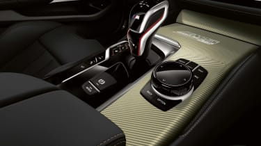 BMW M5 Edition 35 Years gold carbon fibre trim