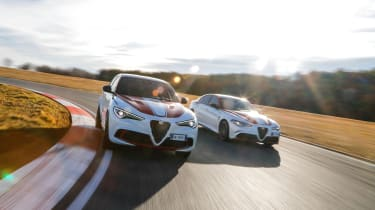 Alfa Romeo Giulia and Stelvio QV limited editions