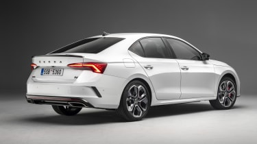 Skoda Octavia vRS hatchback - rear