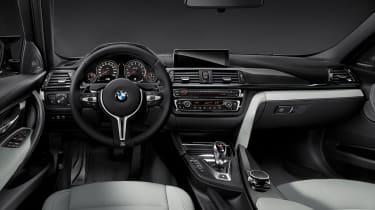 BMW M3 saloon 2014 interior