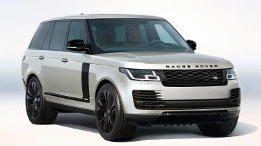 Range Rover Fifty in Aruba silver
