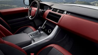 Range Rover Sport HST special edition interior static